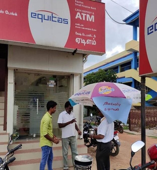 IPO: Equitas Small Finance Bank IPO listed at discount