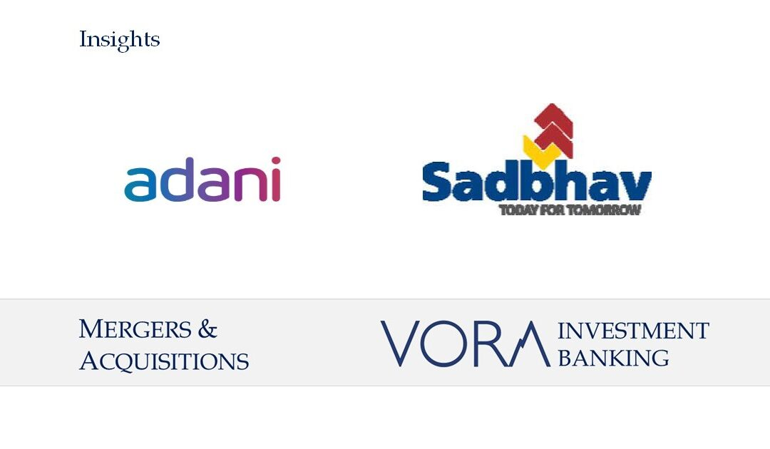 M&A: Adani Group to acquire MBCPNL portfolio From Sadbhav Infrastructure